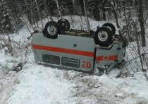 Пациенты «скорой помощи» поселка Ис могут замерзнуть и умереть в ДТП