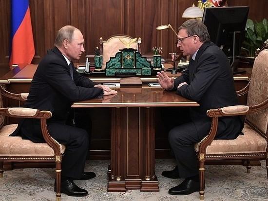 Путин назначил Буркова врио губернатора Омской области