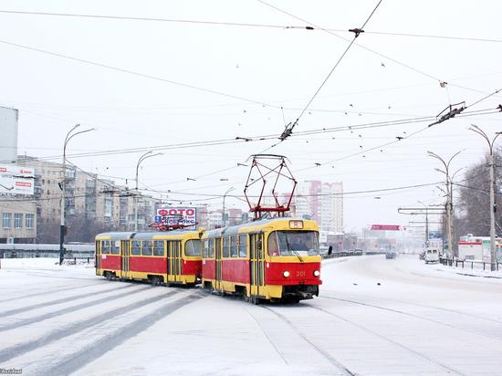 Трамвай задавил пенсионера в Екатеринбурге