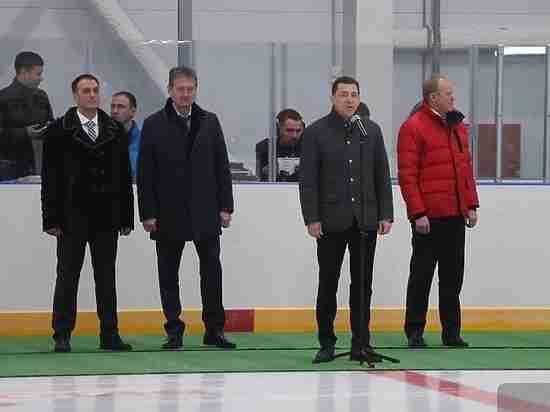 В Реже открыли первую арену в рамках соглашения Свердловской области и УГМК